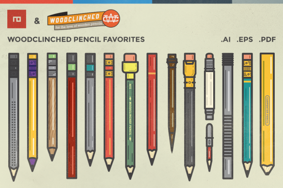 Woodclinched Vector Pencil Pack